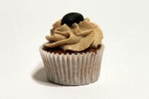 Cupcake mit Espresso-Creme