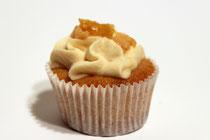 Zitronen-Karamell-Cupcake