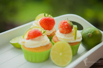 Caipirinha-Cupcake, Limetten-Rum-Cupcake