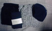 念願のベレー帽も買えたし、満足。