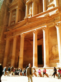 #JordanLive – Günter Exel in Petra, Jordanien