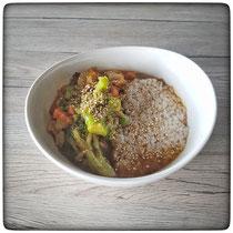 Asiatische Gemüse-Reis-Pfanne
