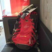 Der Rucksack für unterwegs