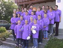 Gruppenfoto mit Fr. Sausgruber