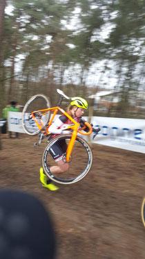 Larissa Luttuschka im Rennen