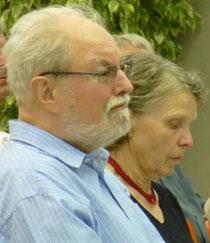 Helmut Haas mit Ehefrau bei der Verabschiedung - mehr Bilder...
