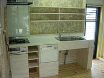 手作りキッチン