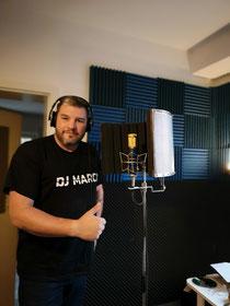 DJ Marci im Studio