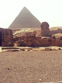 Die Pyramiden von Gizeh und die Sphinx 🐪