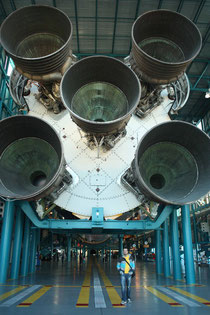 Original Saturn V-Rakete
