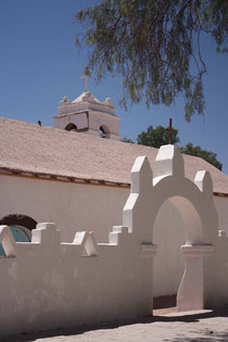 Die Kirche von San Pedro de Atacama