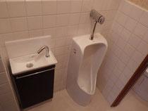 手洗い小便器(リフォーム後)