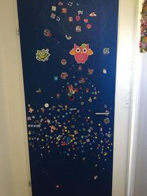 So schön bunt könnte eure Türe werden