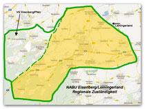 Zuständigkeitsbereich des NABU-Eisenberg/Leiningerland