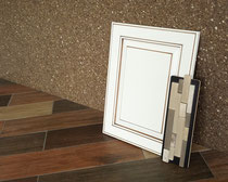 A cabinet sample will help you choose the perfect kitchen tile and bathroom tile for your home.