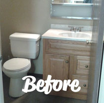 "A picture of the bathroom or kitchen you're remodeling is worth a thousand words, including the words ""need new tile."""
