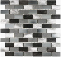 Aluminum mosaics - Clean and contemporary for a sleek Seattle backsplash or a trendy Tacoma feature wall