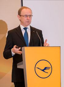 Karl Ulrich Garnadt will head Lufthansa's passenger division  /  source: LH Cargo