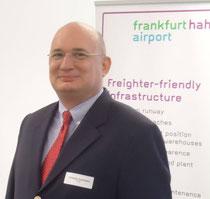 Christoph Goetzmann, Director Sales at Hahn Airport  /  source pictures: HHN