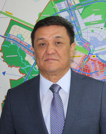 """Astana is on its way to becoming a tri-modal transport hub,"" announces the city's Chief Architect Baktybay Taitaliyev / source: hs"