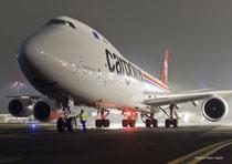 Cargolux will operate Boeing 747-8Fs on the Zhengzhou route  /  source: CV