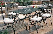 Mediteraner Tisch + Stuhl