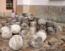 каменные ядра