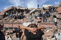 землетрясение в Турции 23.10.2011