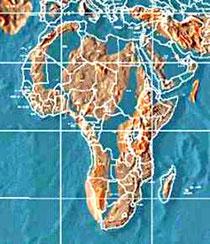 карта Африки после Апокалипсиса.