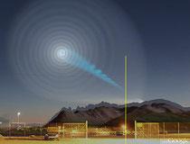 """Воспринятое некоторыми чуть ли не """"знамением"""" знаменитая спираль в Норвегии была результатом работы Blue Beam"""