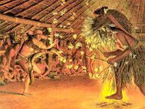 Nella foto una cerimonia Kuksu