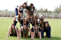 Le Falcons della Cactus Shadows High School