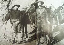 Nella foto il Ranger Burt Mossman che catturò il bandito Augustin Chacon (foto tratta da www.bensonarizonarangers.org