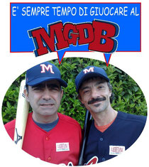 Elio e Faso testimonial per la FIBS del Meraviglioso Gioco del Baseball