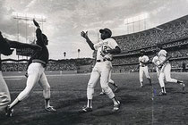 Glenn Burke e Dusty Baker battono un High Five