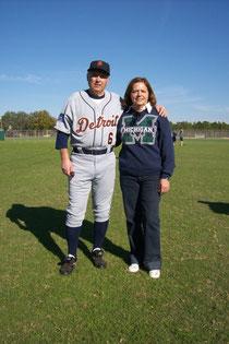 Frankie Russo con la moglie