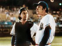 Immagine tratta dal film Bull Durham con Kevin Costner e Tim Robbins