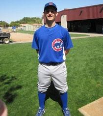 Alberto Mineo in Rookie League con l'organizzazione dei Cubs