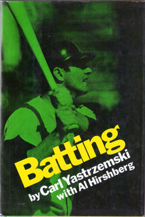 La copertina di Batting (The Viking Press) Carl Yastrzemski