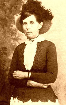 Belle Starr in una foto dell'epoca