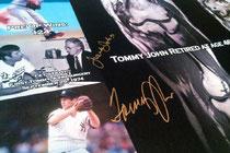 Le lastre del lanciatore Tommy John messe all'asta(Foto da Let's Do It Foundation)
