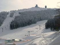 Skifahren am Arber