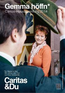 Gemma höffn Caritas Haussammlung 2014