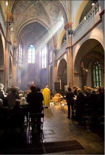 Beerdigungsfeier Maria Brecht
