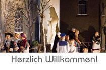 herzlich willkommen sankt maria in lyskirchen koeln romanik milieukrippe