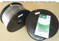 Cable elastique ou sandow en bobine de 100 m