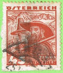 Austria - 1934 - Farmer