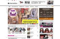 screenshot der Webseite Tokyo style arena