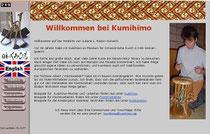 screenshot der webseite kumihimo.de
