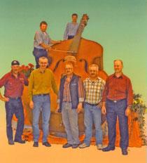 Die Neue Gige mit Erbauern und Musikanten
